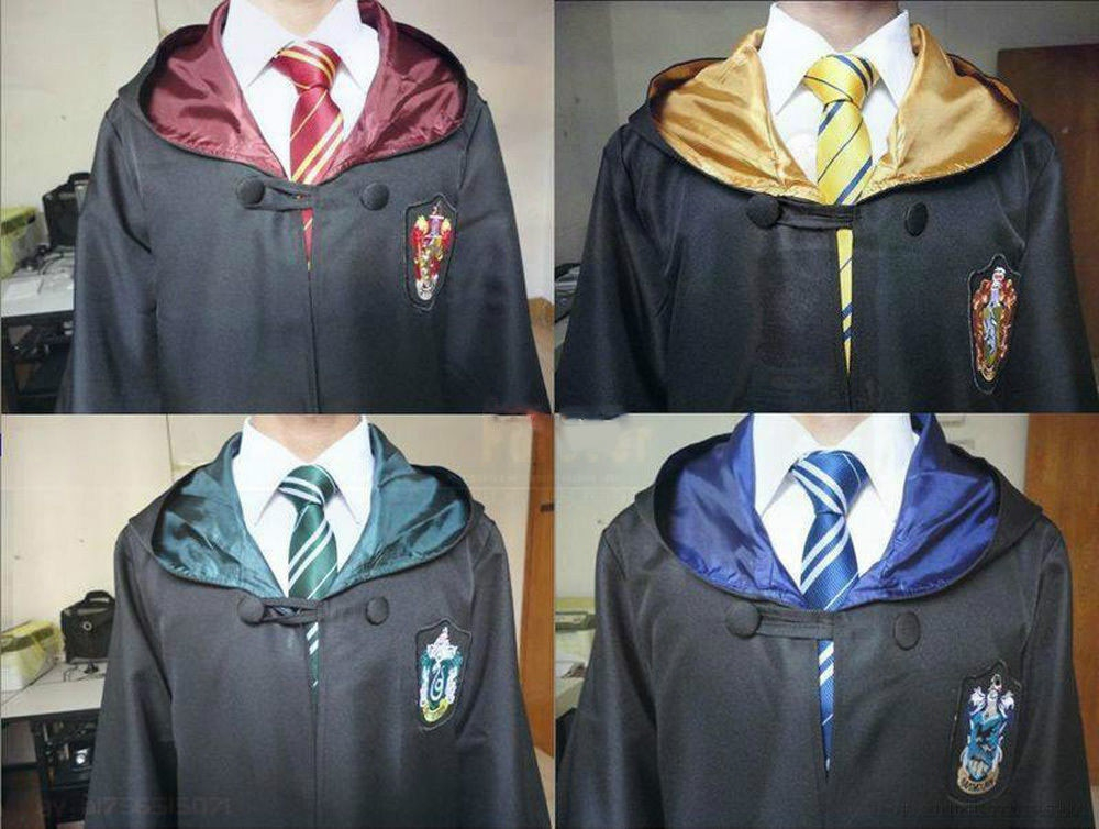 Robe Cape Cloak Gryffindor Slytherin Ravenclaw Hufflepuff Robe Cosplay Costumes Kids Adult -in Movie & TV costumes from Novelty & Special Use on Aliexpress.com | Alibaba Group