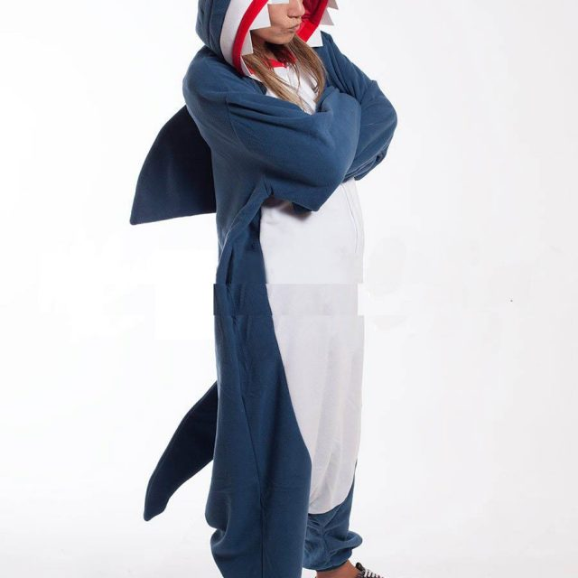 Blue Shark Unisex Pajamas