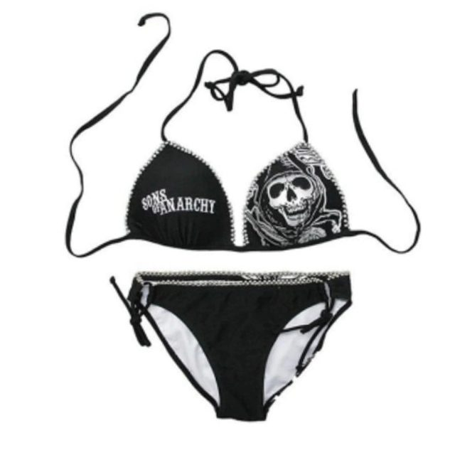 Skull Fingers  Bikini  swimsuit